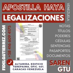 apostilla haya legalizacion gtu saren registro principal