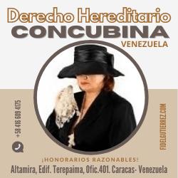 herencia de concubinos,derechos concubina fallecer concubino, la concubina hereda en venezuela, ley de concubinato en venezuela 2019,derechos de concubina viuda,un concubino hereda,una concubina tiene derecho a heredar