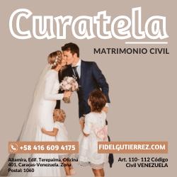 curatela para contraer matrimonio en venezuela art 110 a 112 codigo civil