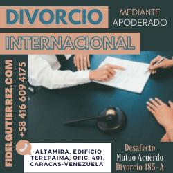 divorcio internacional desde venezuela abogado