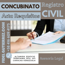 Requisitos Acta Concubinato en Venezuela-8