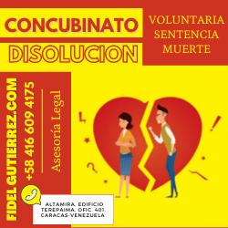 disolver un concubinato en venezuela-8
