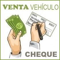 venta vehiculo con cheque documento