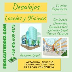 desalojos de oficinas y locales comerciales 2021